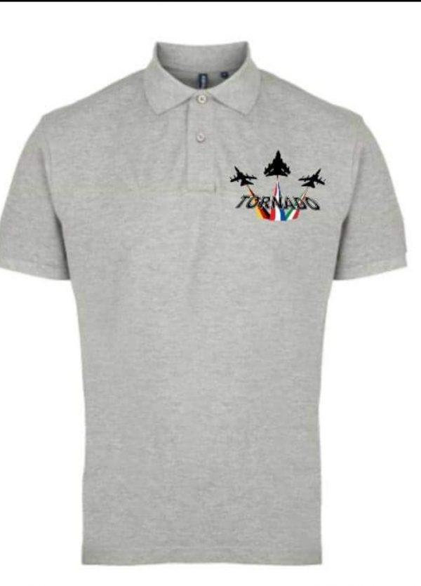 Panavia Tornado Polo Shirt (Grey)