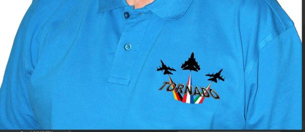 Panavia Tornado Polo Shirt (Saphire)