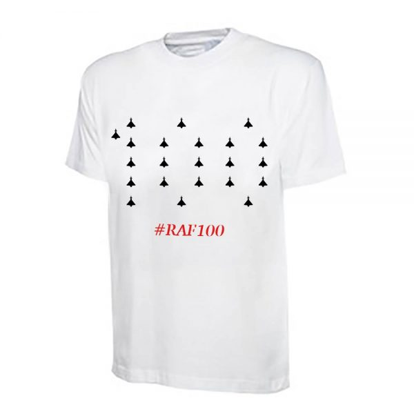 RAF100 Typhoon T-Shirt (White)