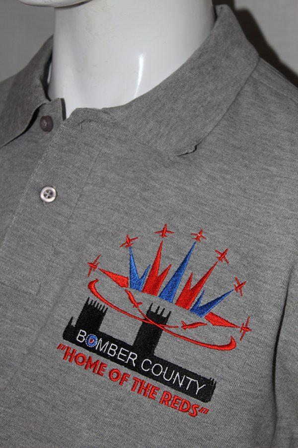 Red Arrows Polo Shirt - Grey