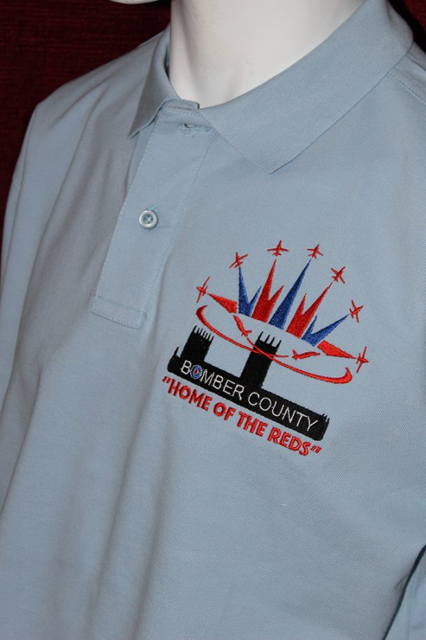 Red Arrows Polo Shirt - Sky