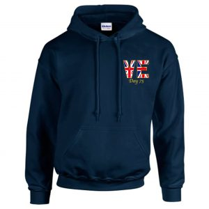 VE Day 75th Anniversary Hooded Sweatshirt